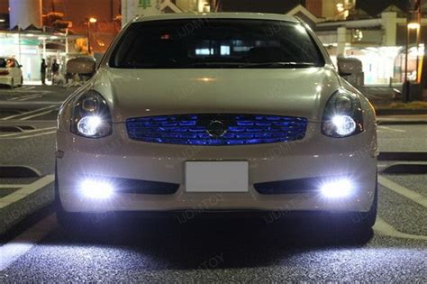 daytime running lights infiniti ijdmtoy car blog introducing l shaped drl for 2006