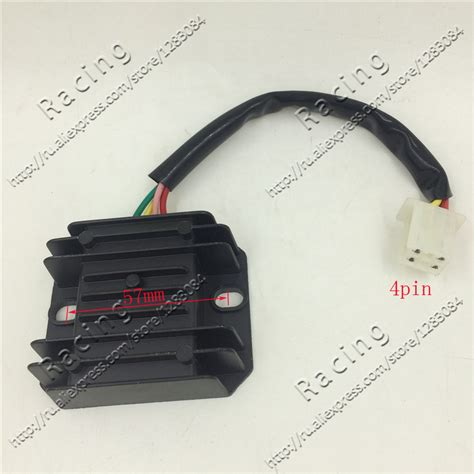 ac 12v 4 pins wires voltage regulator rectifier gy6 cg cb