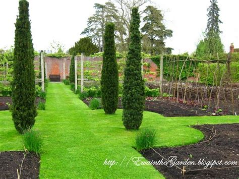 formal vegetable garden a formal vegetable garden in gardens and