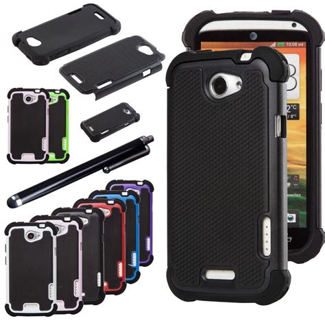 rugged cover aliexpress buy dual layer rugged silicone hybrid protect cover for htc one