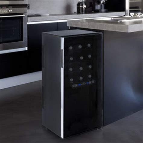 Countertop Wine Cooler Costco by New Wine Enthusiast 24 Bottle Dual Zone Wine Cooler