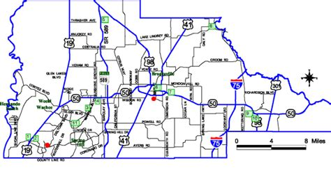 hernando county recycling locations and map