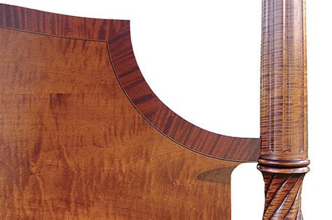 enhance furniture  crossbanding finewoodworking