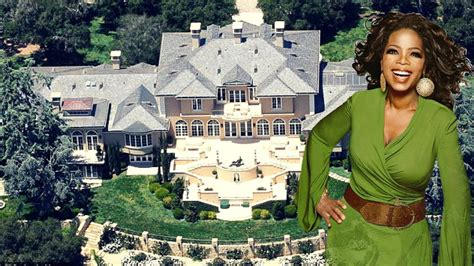 oprah winfrey house oprah winfrey multi million dollar mansion house tour youtube