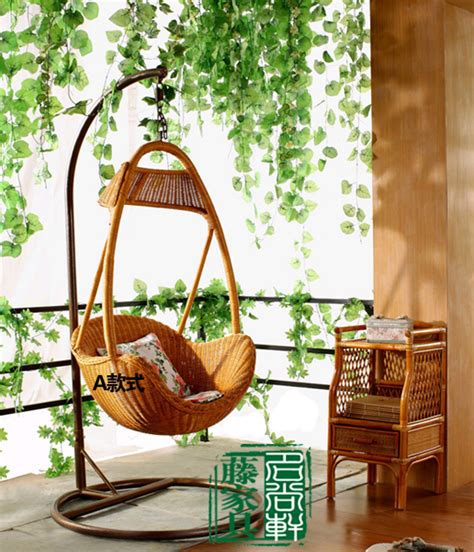 balcony swing rattan swing single outdoor swing indoor swing balcony