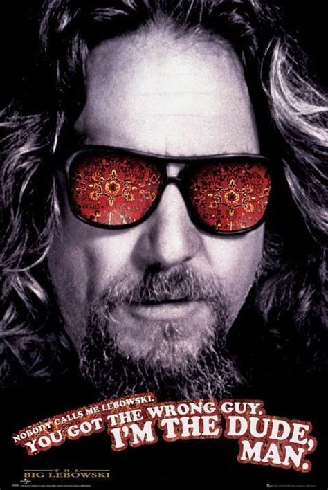 Wall Murals Modern the big lebowski the dude poster europosters