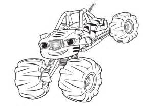 color blaze blaze and the machines coloring pages coloring pages