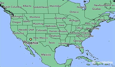 map world az where is az arizona map worldatlas