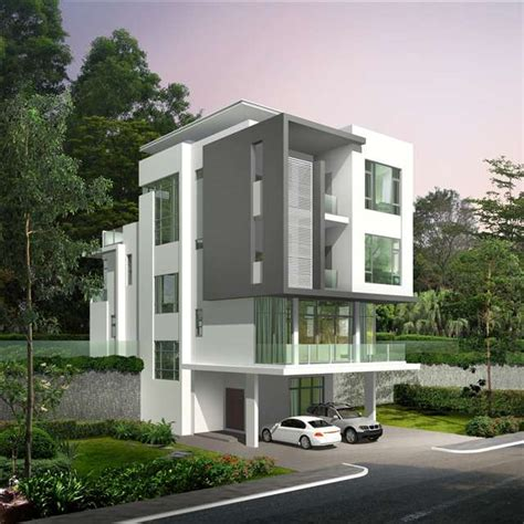 3 Bedroom Houses For Sale new bungalow house for sale at beverly heights penang