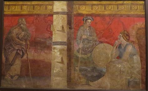 pompeii   nutshell paintings
