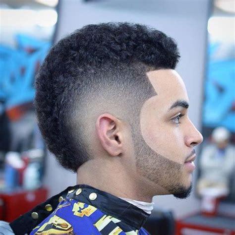 The Burst Fade Mohawk Haircut