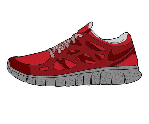 how to draw running shoes nike free run nsw suede drawing by mattisamazingps on