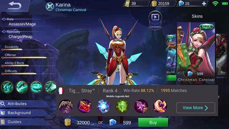 mobile legend damage magic damage build 2018 mobile legends
