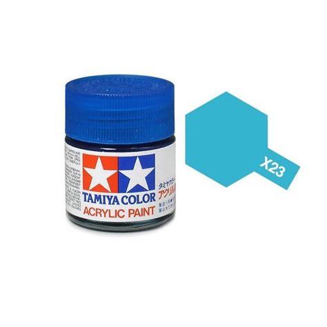 acrylic painting gloss tamiya 81023 x 23 clear blue acrylic paint gloss 23ml