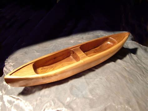 hand carved boat 18 best images about miniature canoe carved on pinterest