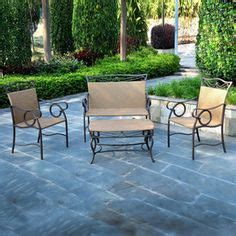 Patio Furniture Sets Without Cushions White Cushions Patio Conversation Sets And Patio On