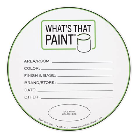 Painting Labels Template
