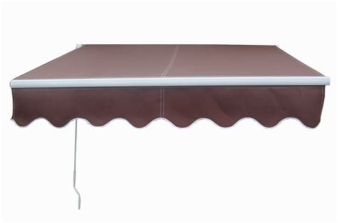 manual retractable awning 3 5mx2 5m manual retractable awning garden patio canopy