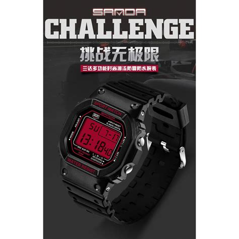 Jam Tangan Pria New Camo sanda jam tangan sporty pria sd 329 black jakartanotebook
