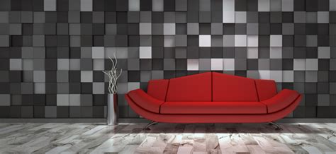 red white black decor spotty wallpaper interior design red sofa with black and white cell wall background hd