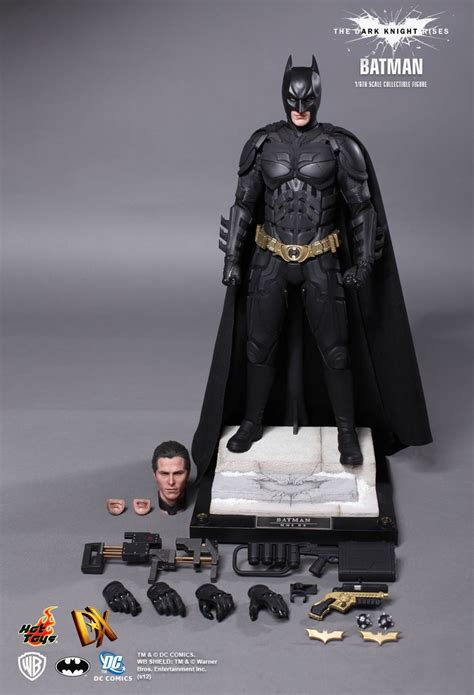 Original Hottoys Dx 12 Batman The Rises Toys Dx12 The Rises Batman Bruce Wayne