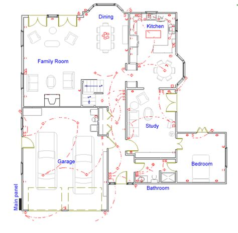 electrical floor plan residential electrical plan sample electrical floor plan