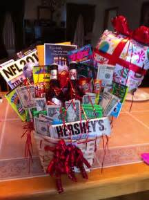Birthday Basket I Attempted To Make A Birthday Gift Basket For My Boyfriends Bday And I Nailed It It Came