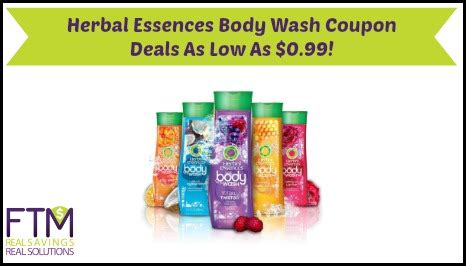 herbal essences wash only 0 99 at shoprite living herbal essences wash coupon deals as low as 0 99