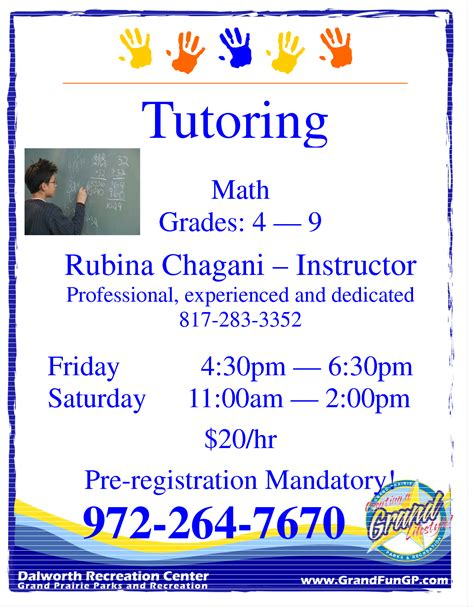 tutor flyer template free best photos of tutoring flyer template word