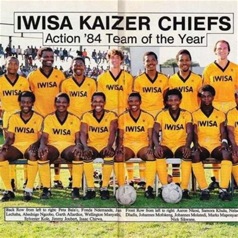 kaizer chiefs squad of 1984 who do you recognise diski 365