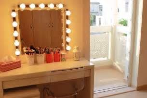 Target Girls Vanity Makeup Dressing Table Mirror Lights Makeup Vidalondon