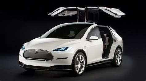 Tesla Modell X 2016 Tesla Model X Carsfeatured