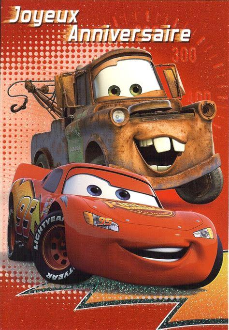 si鑒e auto 2 ans carte joyeux anniversaire cars 224 imprimer wizzyloremaria