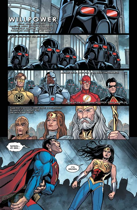 injustice gods among us year four vol 2 exclusive preview injustice gods among us year four 5