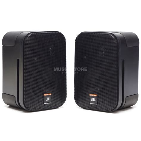 Speaker Jbl 1 jbl 1 pro pair installation speakers black