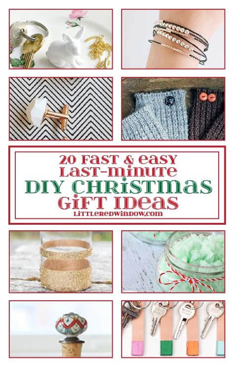 20 fast easy last minute diy christmas gift ideas