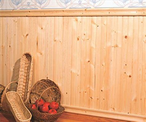 Pre Cut Wainscoting Save 13 Allwood Beaded Knotty Pine Wainscot Kit 40