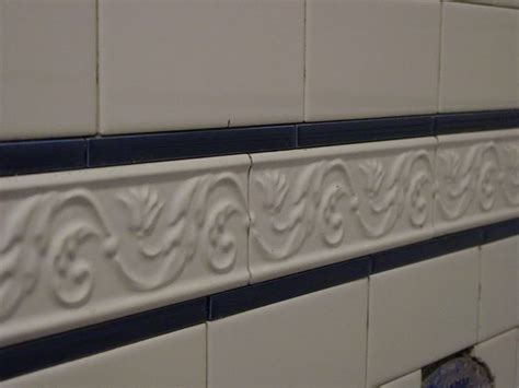 Bathroom Tile Border Ideas Subway Tile Border Shower Tile Ideas White Classic Subway Tile Border Idea Bathroom