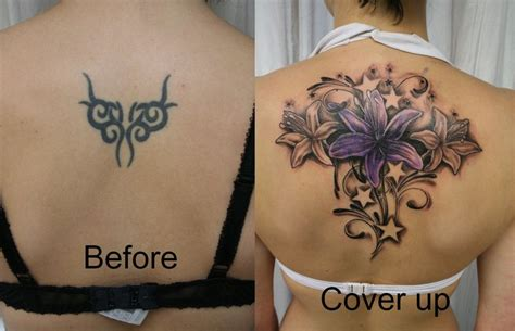tribal cover up tattoos before and after laraverse cover up tattoos before after