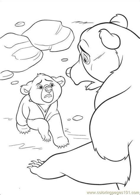 brother bear 2 53 coloring page free brother bear