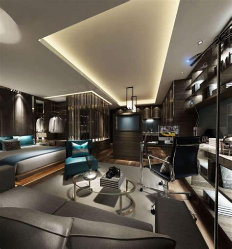 bedroom business modern business men bedroom 3d model download free vector
