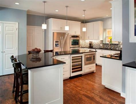 white kitchen cabinetry does not bland