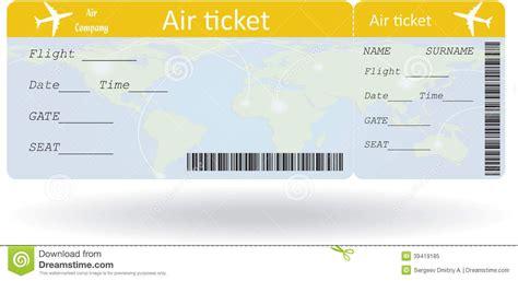 plane ticket gift card template boleto de avion en blanco buscar con preescolar