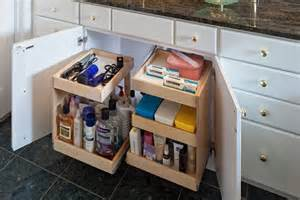 Bathroom Under Sink Storage by Under Sink Storage Bathroom Organizer Houselogic Storage