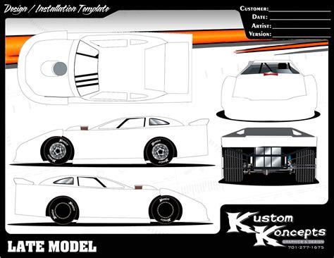 race car graphic design templates late model templates images frompo 1