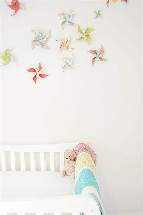 décoration chambre bébé à faire soi même fabriquer guirlande chambre bebe