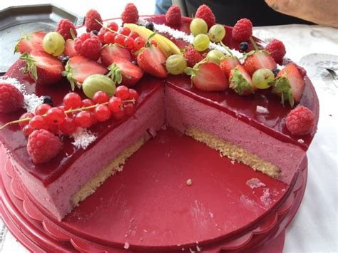 Decoration Genoise Aux Fruits by Bavarois Aux Fruits Rouges G 226 Teaux D 233 Lices