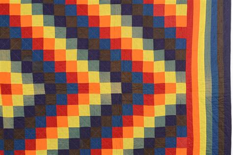 Mennonite Quilts For Sale by Mennonite Trip Around The World Quilt For Sale At 1stdibs