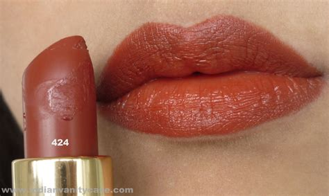 rust colored l shades orange brown lipstick lakme 424 i need this the