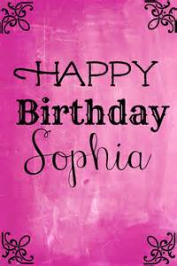 related keywords amp suggestions happy birthday sophia